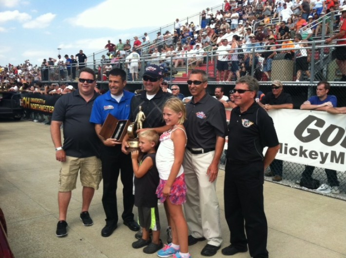 Brad Zaskowski - NHRA Super Stock Winner at 2014 Norwalk, OH