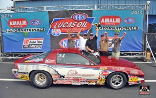 Brad Zaskowski - NHRA Super Stock Winner at 2014 Gainesville, FL
