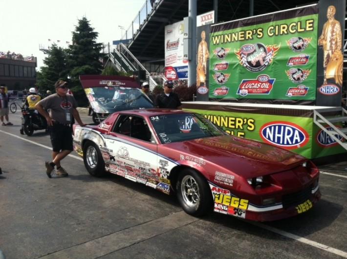 Brad Zaskowski - NHRA Super Stock Winner at 2014 Norwalk, OH