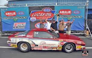 Brad Zaskowski - NHRA Super Stock Winner at 2014 Gainesville, FL